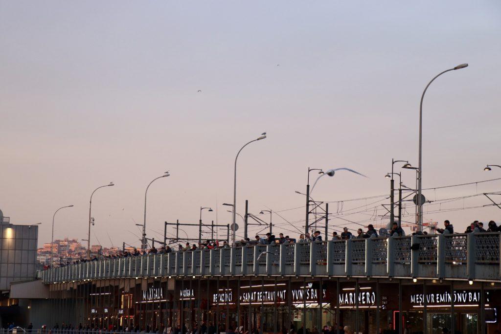 Podul și Turnul Galata, Istanbul