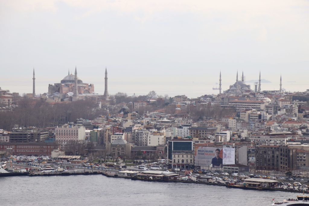 Catedrala Hagia Sophia, Istanbul, Turcia