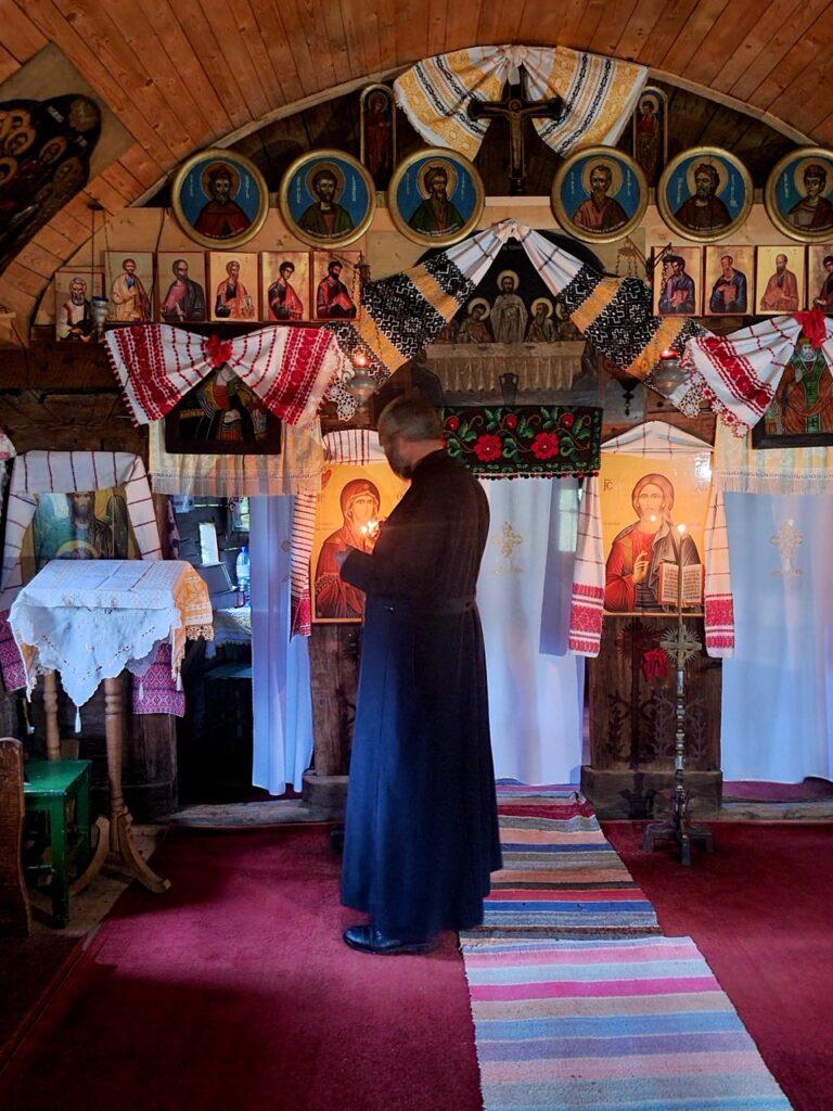 Biserica din lemn din Șinca Nouă, Țara Făgărașului