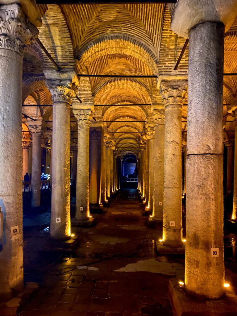 Bazilica Cisternă, Istanbul