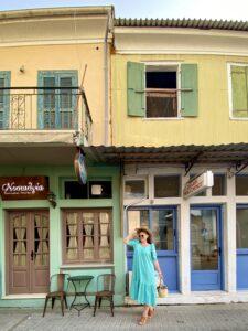 Lefkada Town, Grecia