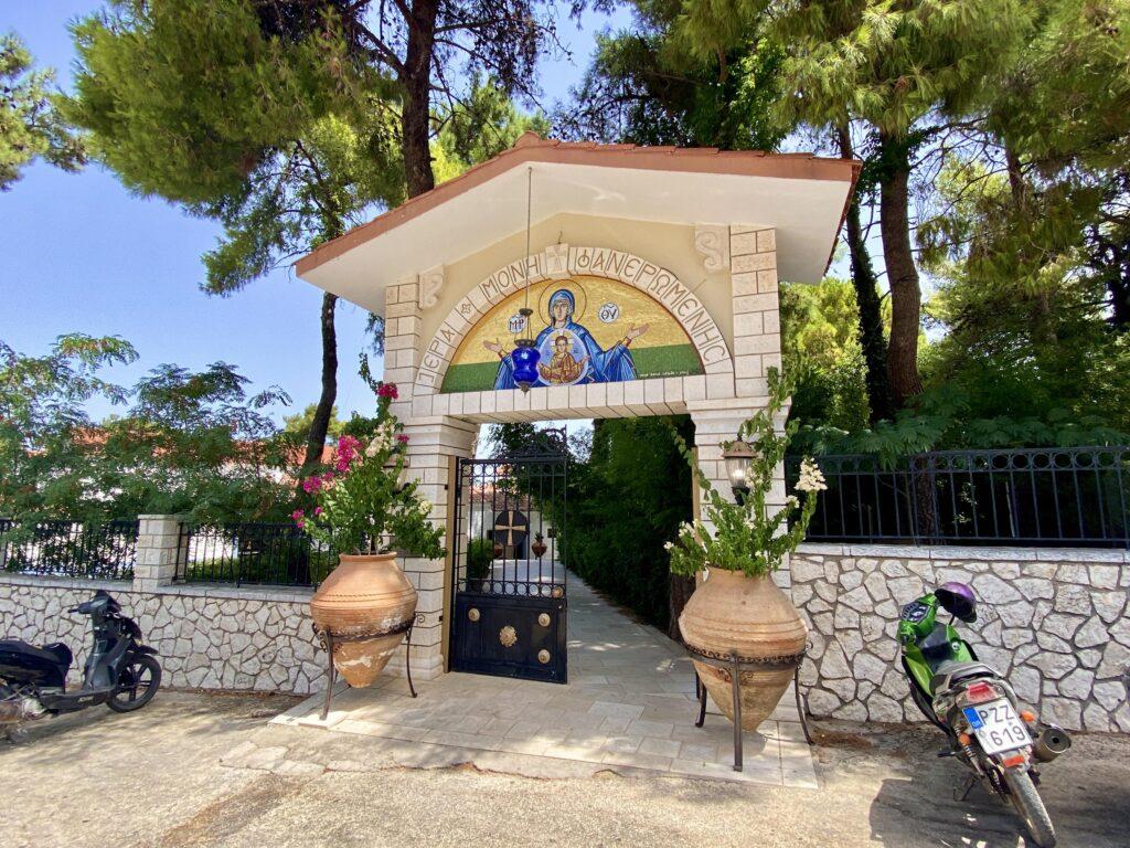 Mănăstirea Faneromeni, Lefkada, Grecia