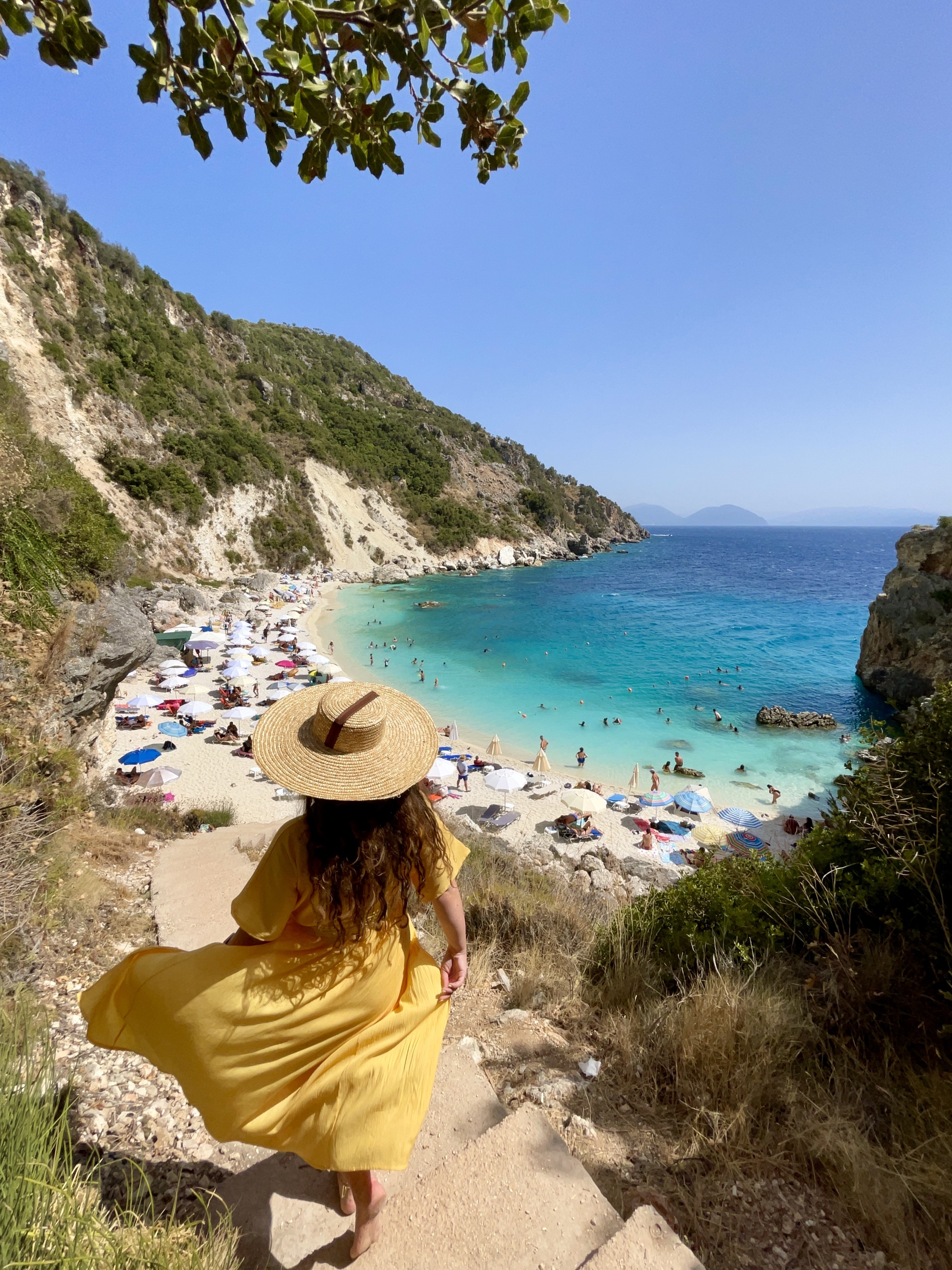 Plaja Agiofili, Lefkada