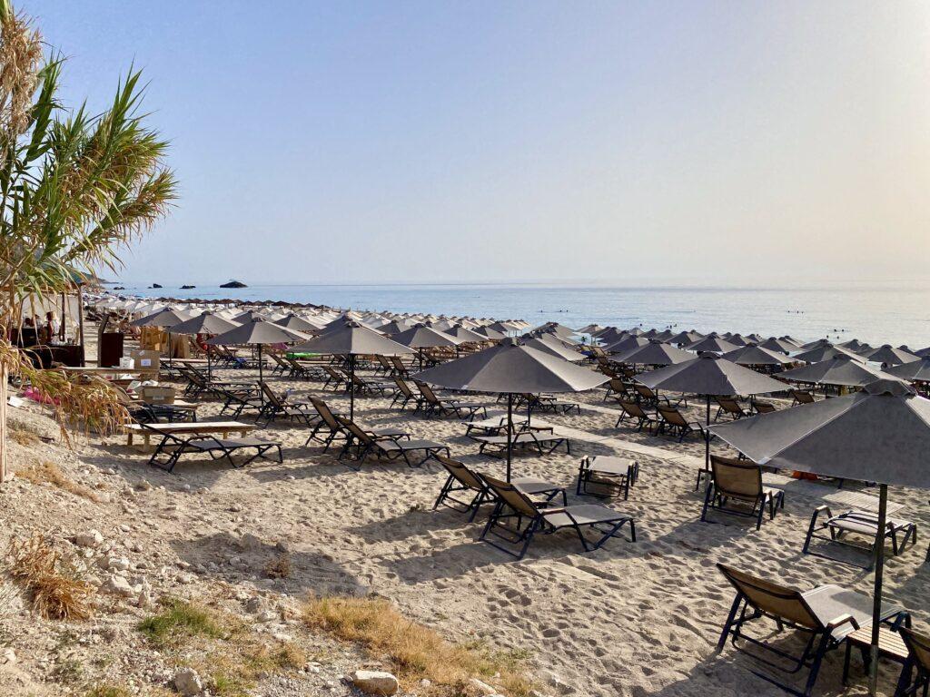 Plaja Kathisma, Lefkada